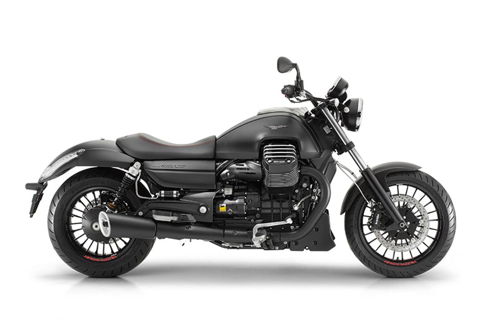 imagen de moto guzzi audace california vista lateral
